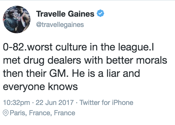 travelle gaines